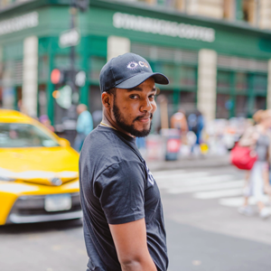 Consciously Unbiased Black Eye CU Hat